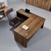 오크마운트6 라운드형 책상 (LND-515 서랍미포함 / 사무실용, 컴퓨터책상, 직원책상)