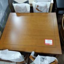 토토 4인 엔틱식탁 신품 (의자포함) 1150 x 750 x 730