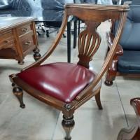원목 중역 의자