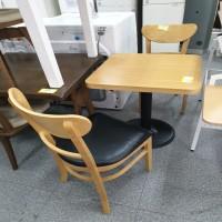[PT99990149] 2인용 식탁세트(의자2개포함)